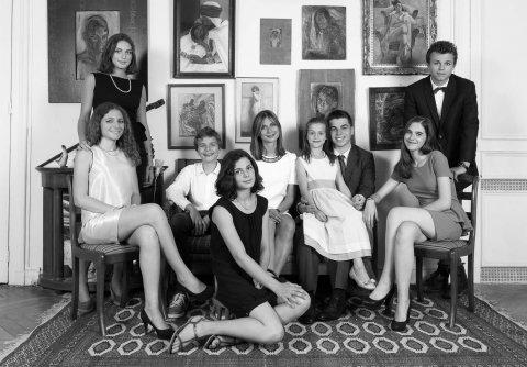 Famille D, Paris 9ème, 20015.