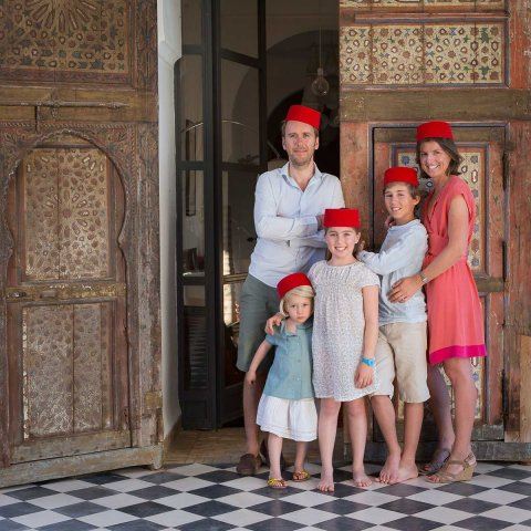 Famille Sc, Marrakech 2013.