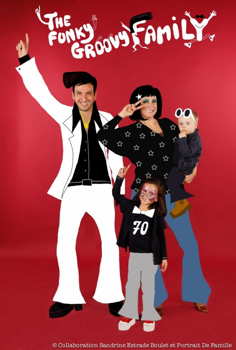 Groovy Family, Paris 2012.