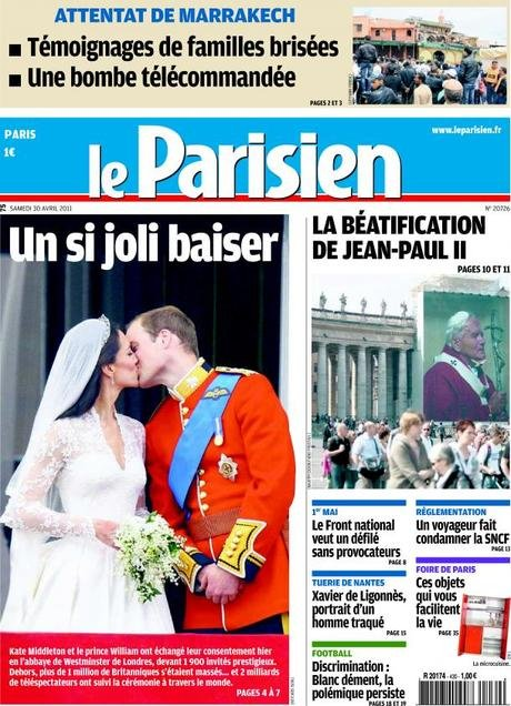 Le Parisien, Avril 2011.