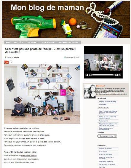 Mon Blog de Maman, Dec 2012.