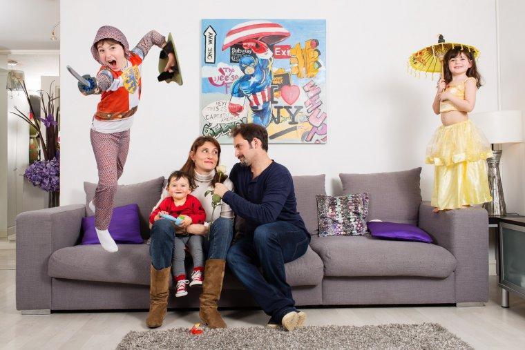 Famille E, Vincennes 2013.