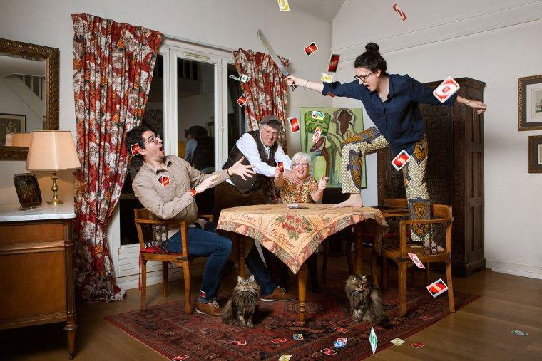 Famille C, Rungis 2016.