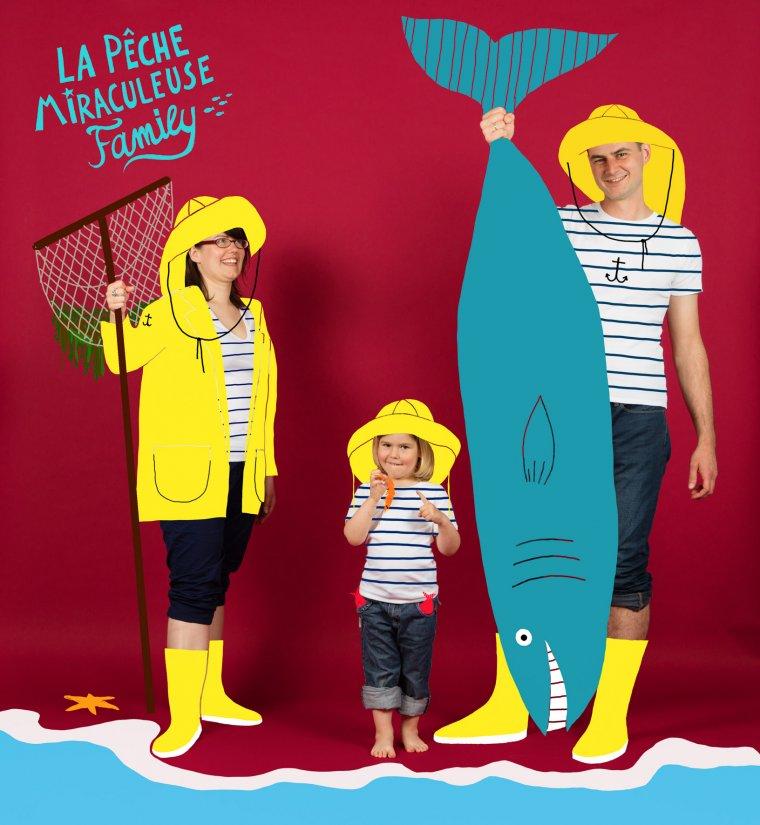 Famille Pêche Miraculeuse, Paris 2013.