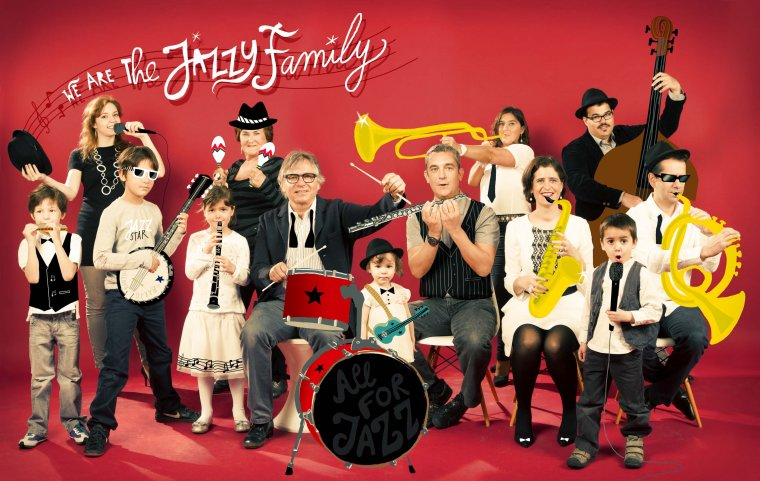 Jazzband Family, Paris 2013.