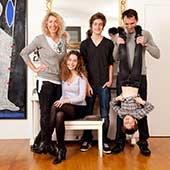 Niki et sa famille, Paris 15 ème, 2012