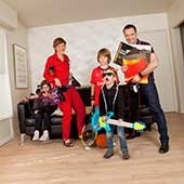 Elise et sa famille, Sceaux, 2011.