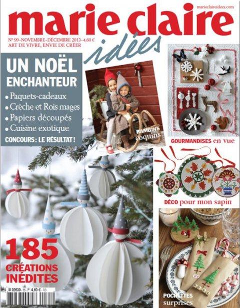 Marie Claire Idées Nov/Décembre 2013