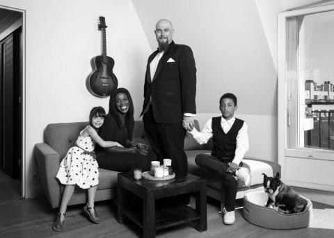 Portrait de la Famille S, Pantin 2017.