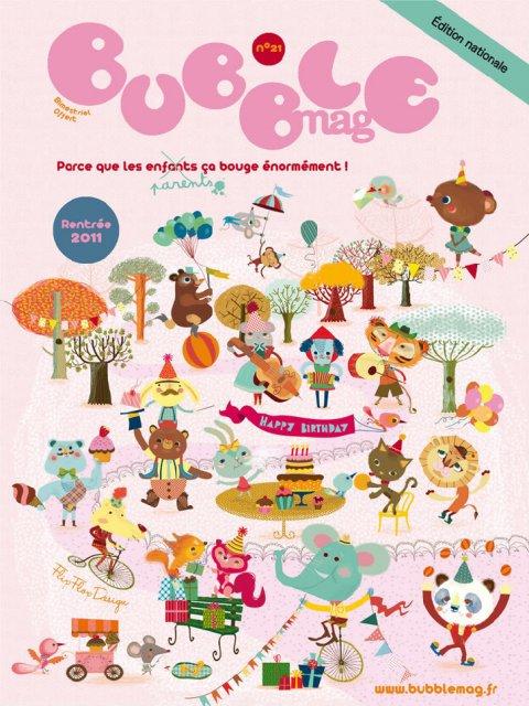 Bubble Mag, Mars 2011.