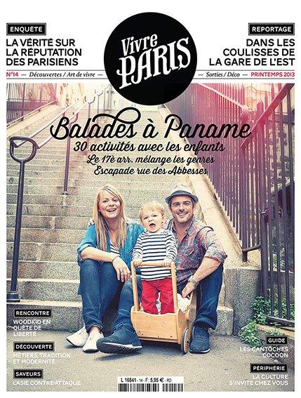 Magazine Vivre Paris, Avril 2013