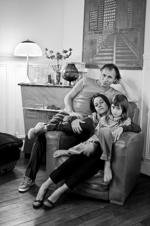 Portrait de la Famille B, Paris, 2010.
