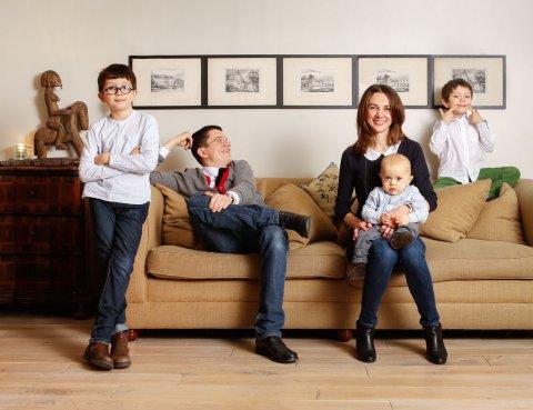 Famille TB, Saint Ouen, 2012.