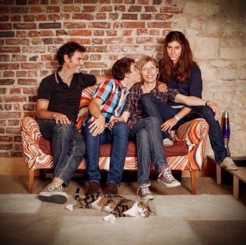 Famille BV, Boulogne, 2010.