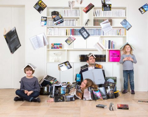 Famille CA, Rambouillet, 2012.