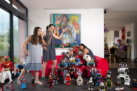 Portrait de la Famille B, IDF  2016.