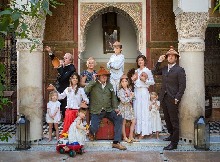 Famille SL, Marrakech, 2013.