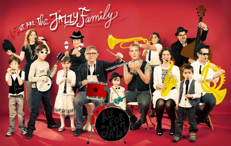 Jazzband Family, Paris 2013.