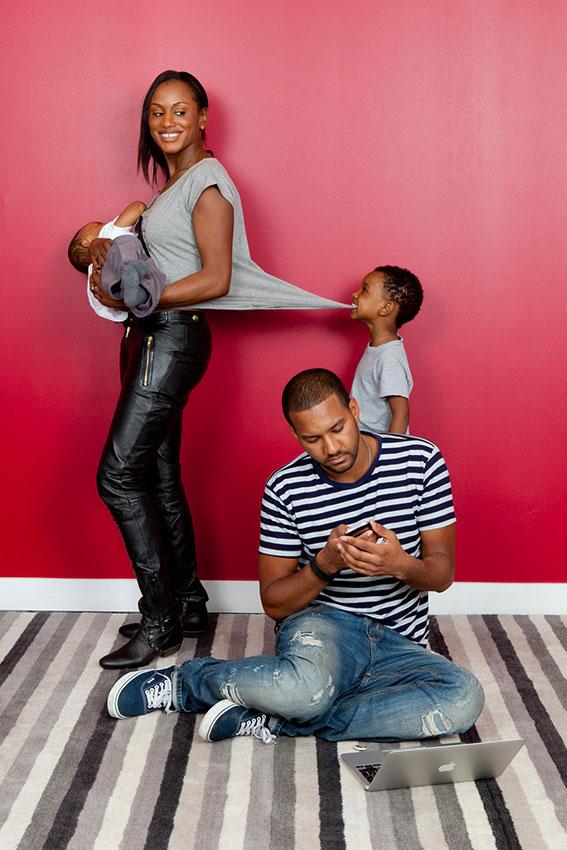 Bien-aimé Votre photo de famille originale – - Portrait de Famille BY42